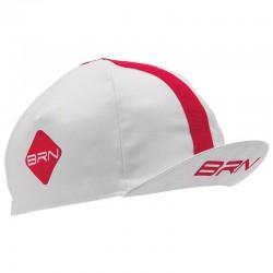 BRN CAP WHITE/RED