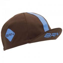 BRN CAP BROWN/LIGHT BLUE