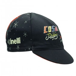 CINELLI COSMIC RIDERS BLACK CAP