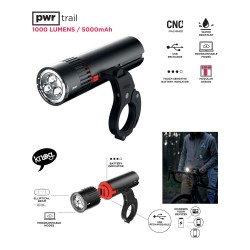 PWR TRAIL Lamp 1000 Lm