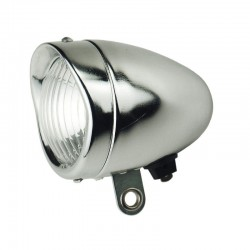 HEAD LAMP DELUXE 67mm CHROME PLATED