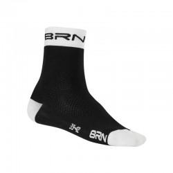 BRN SOCKS BLACK/WHITE