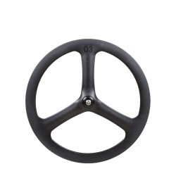 BLB Notorious 03 Full Carbon Front Wheel - Black
