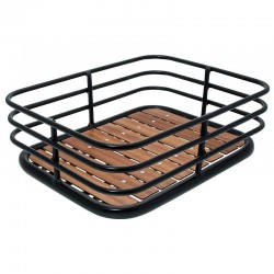 FRONT CAGE WOODEN BASE