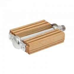 "OLIVE LARCH WOODEN ""R"" PEDALS"